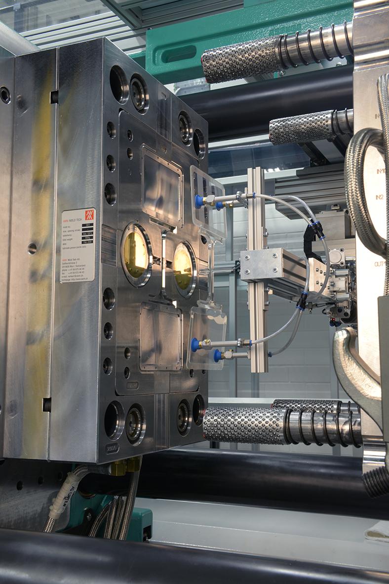 Ambient Light Sensor >> Injection-molded plastic lenses - Fraunhofer IPT